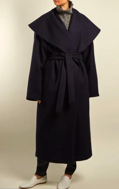 cape collar coat