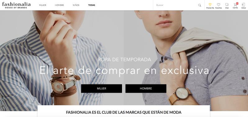 tiendas de ropa online fashonalia